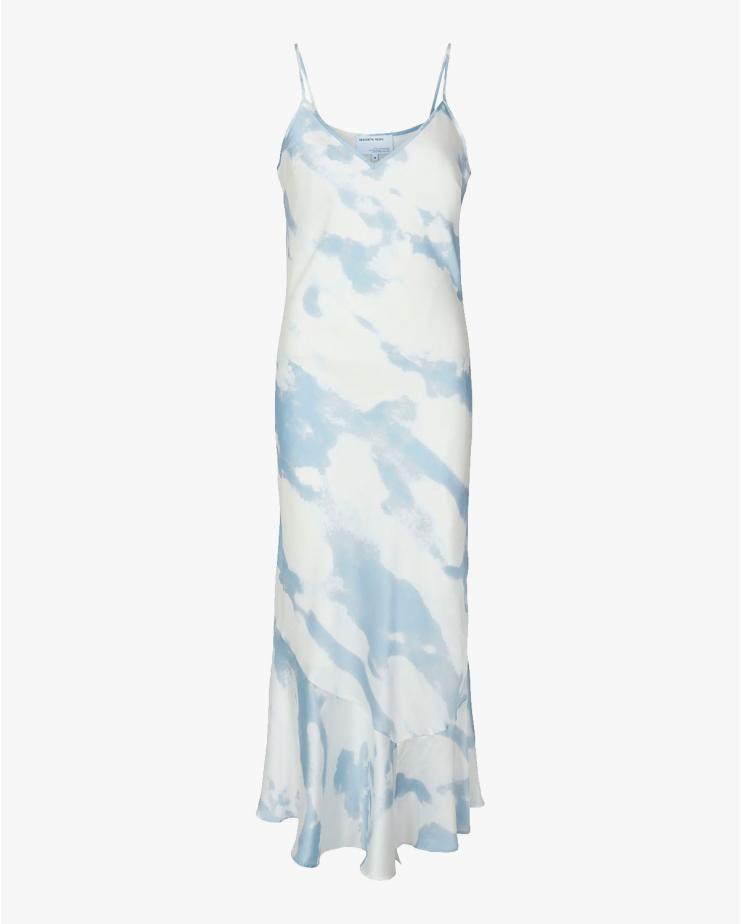 Kacy Long Strap Dress Cloud...