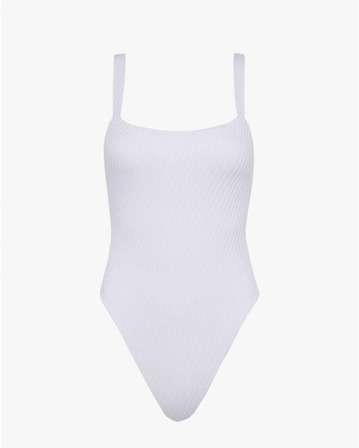 Andre White Swimsuit
