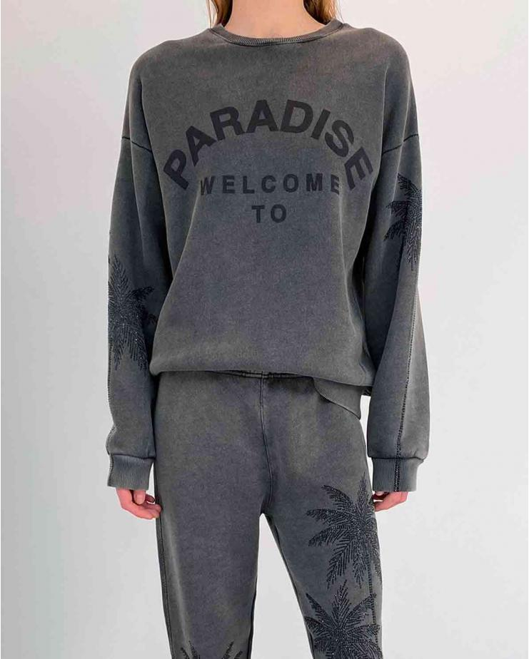 Paradise Sweater in Black