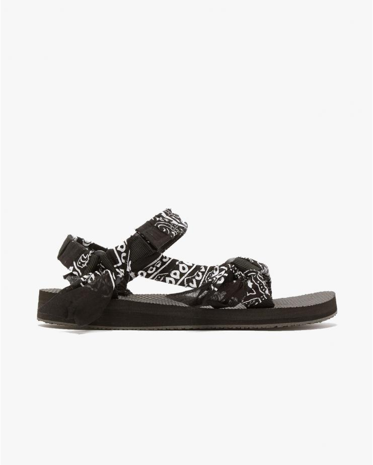 Arizona Love, Trekky Black Bandana Sandal