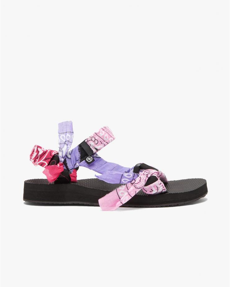 Arizona Love, Trekky Mix Pink Sandals