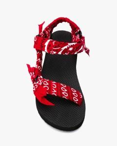 Arizona Love, Trekky Red Sandals