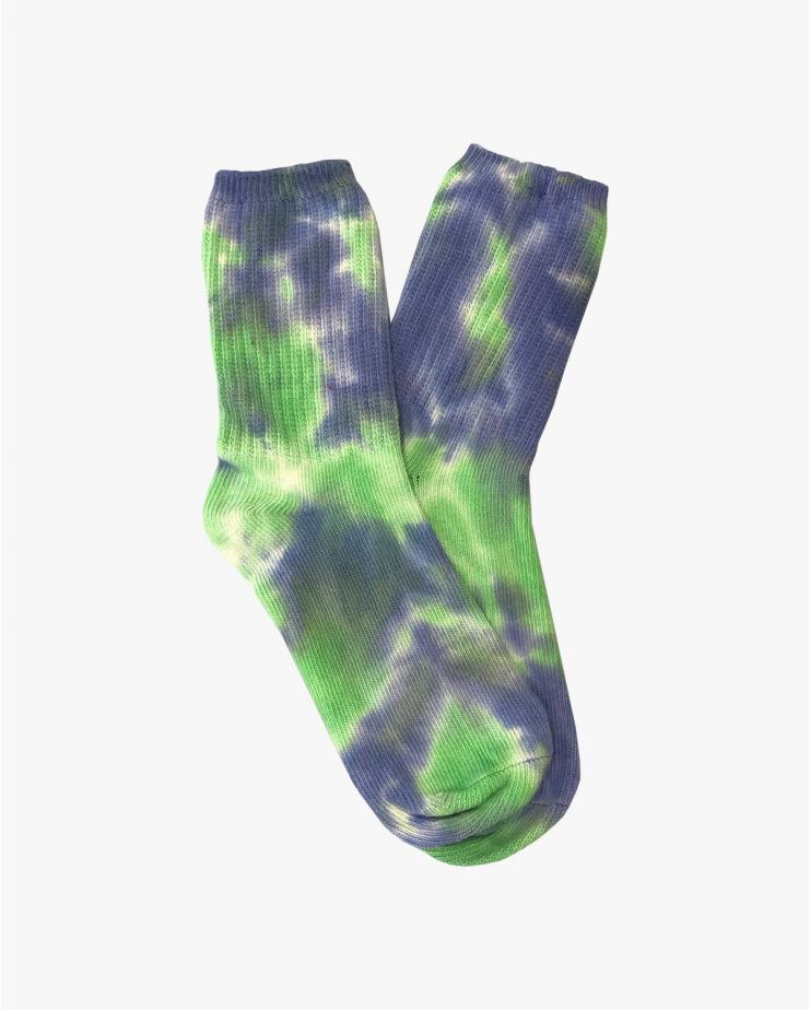 Arizona Love, Green Tie Dye Socks