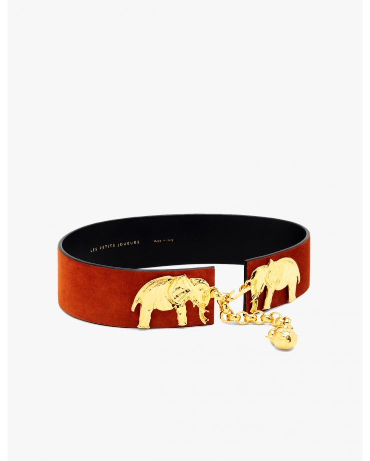 Golden Elephants Belt
