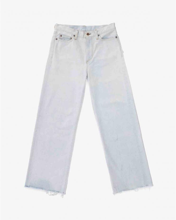 Wide Leg Jean in Aragon