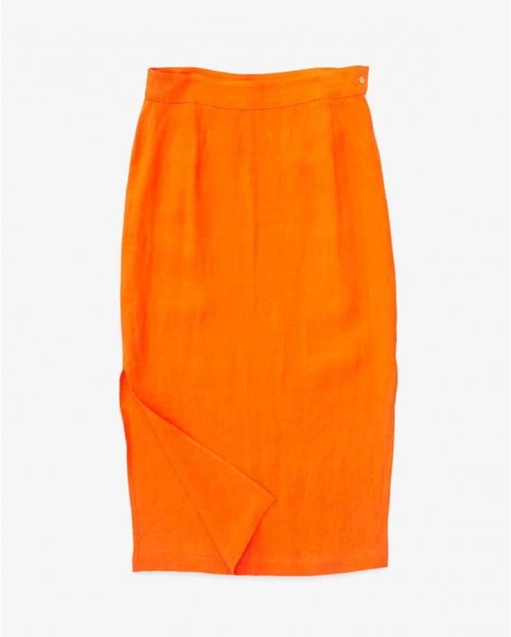 Prado Skirt in Tangerine