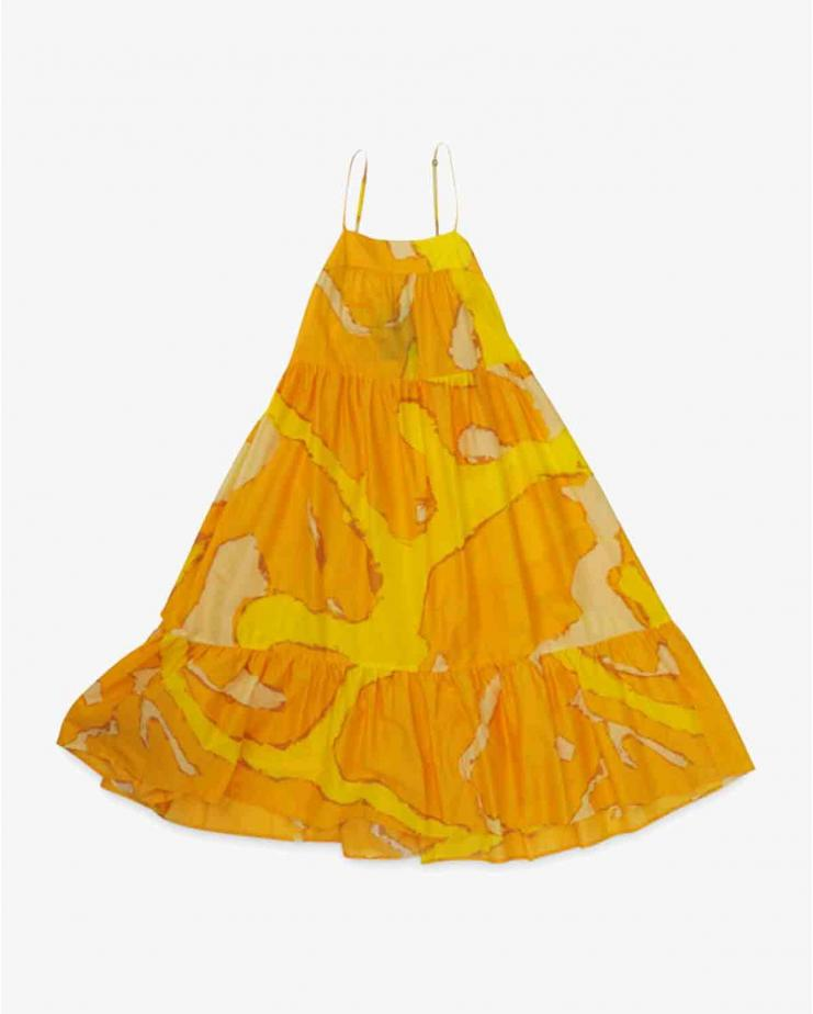 Pumpa Dress in Yellow...