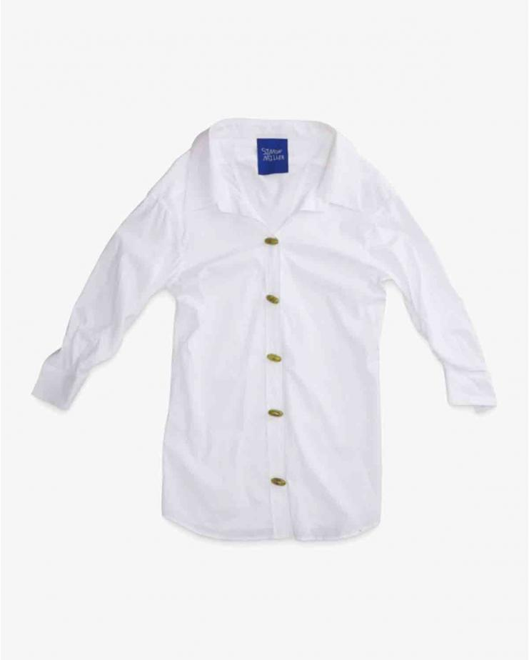Taluga Shirt in White