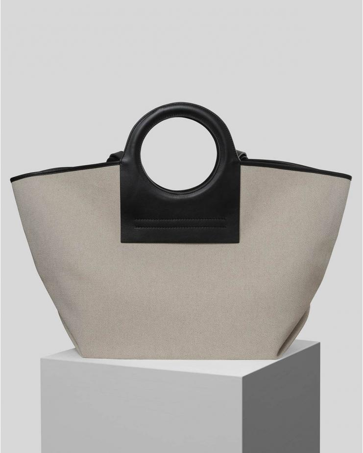 Cala Bag with Black Handles