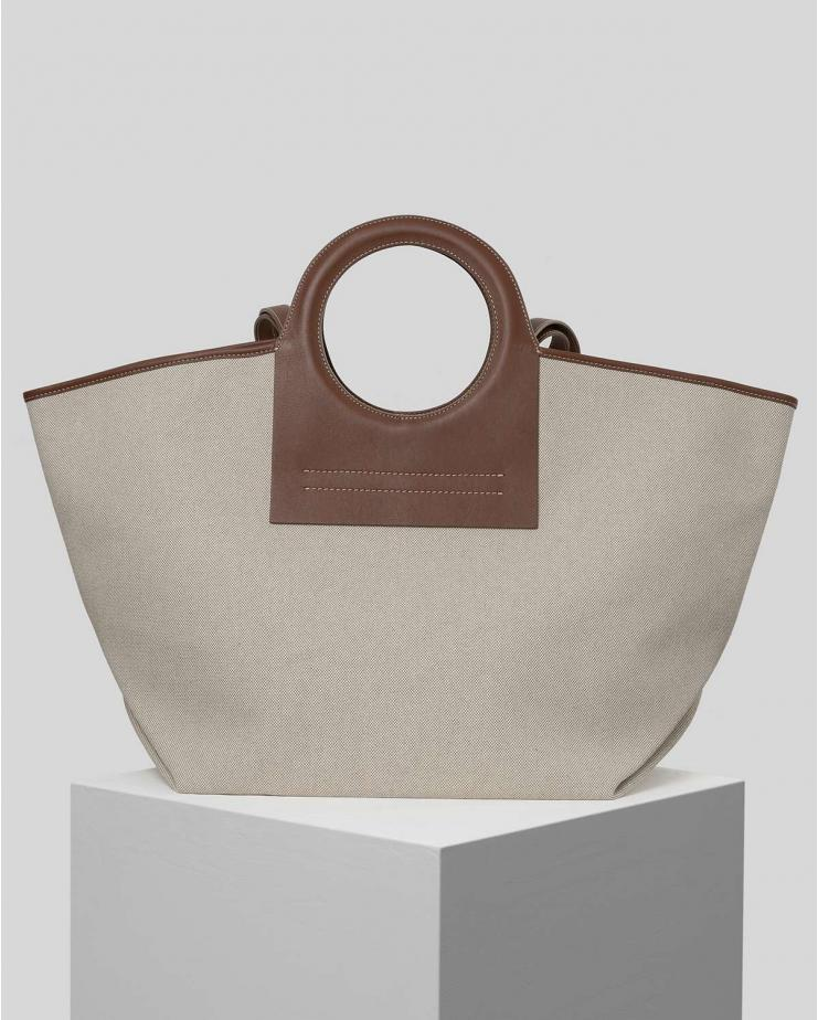 Cala Bag with Brown Handles
