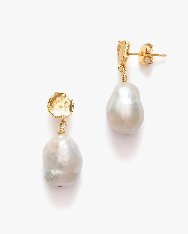 Treasure Pearl Earrings