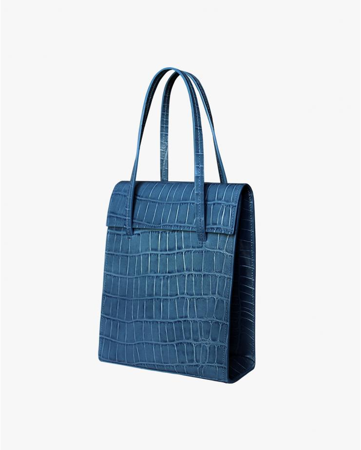 Frita Bag in Petrol Blue