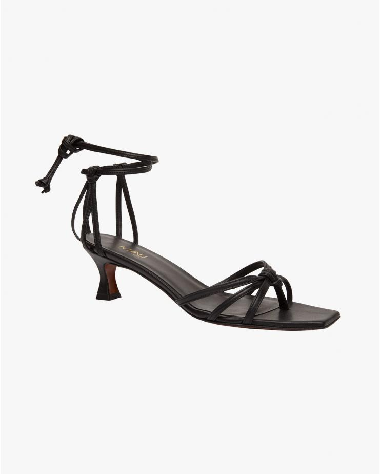 Lace Sandal Black