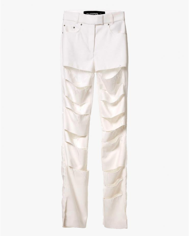 Jay Pants in White