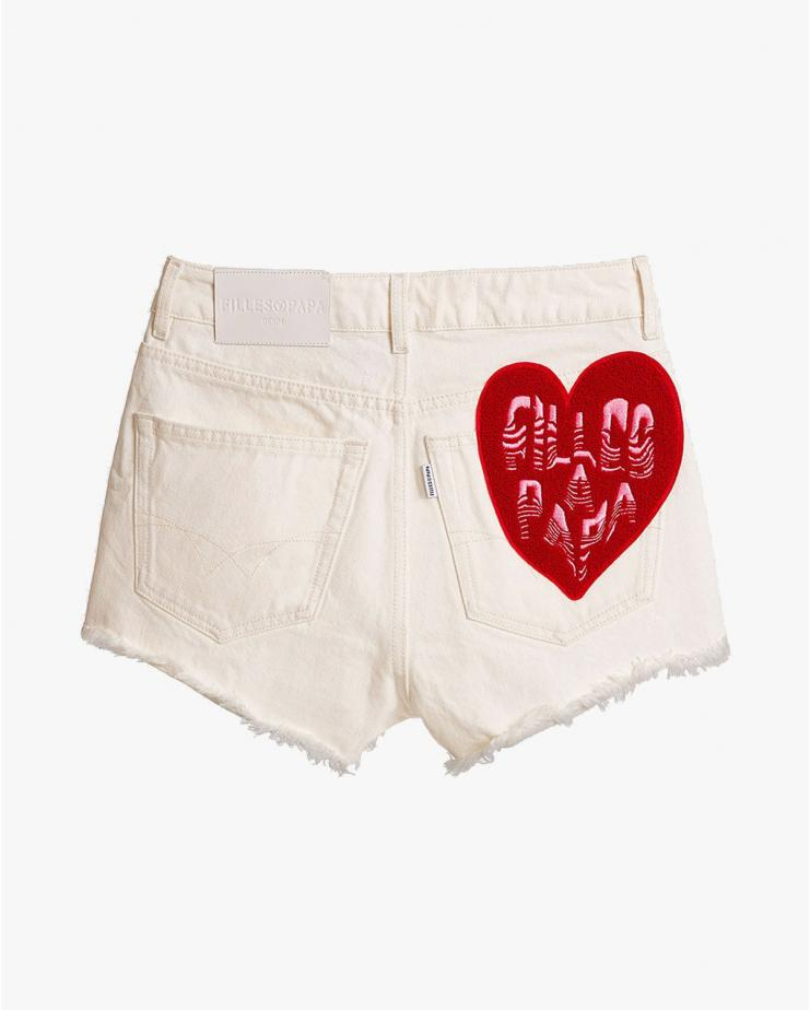 Romeo White Shorts