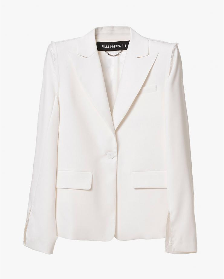 Grace White Blazer