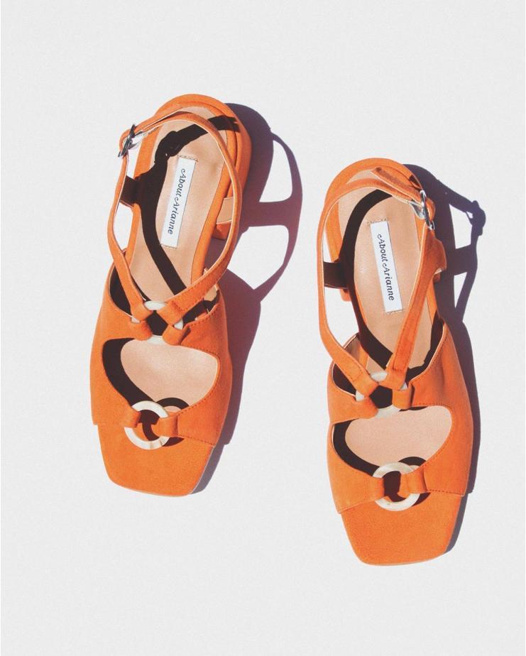 Exclusive Brava Peach Sandals