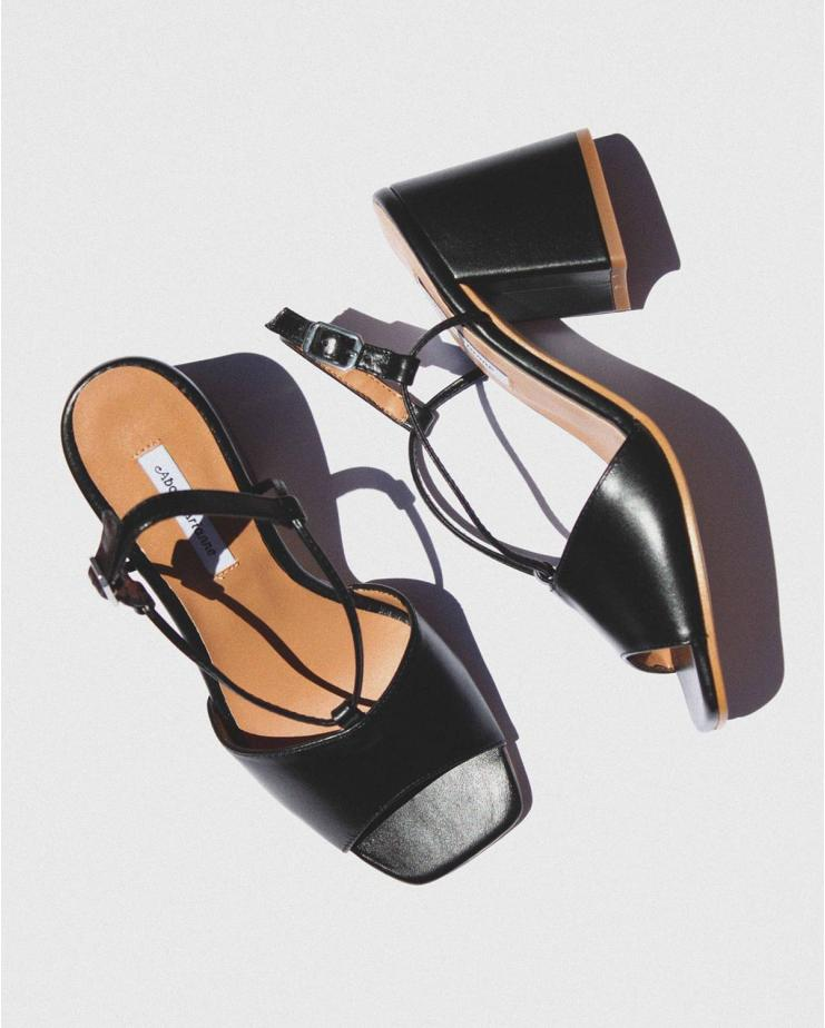 Exclusive Sarah Heels in Black