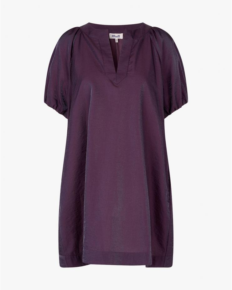 Alleeah Dress in Plum Perfect