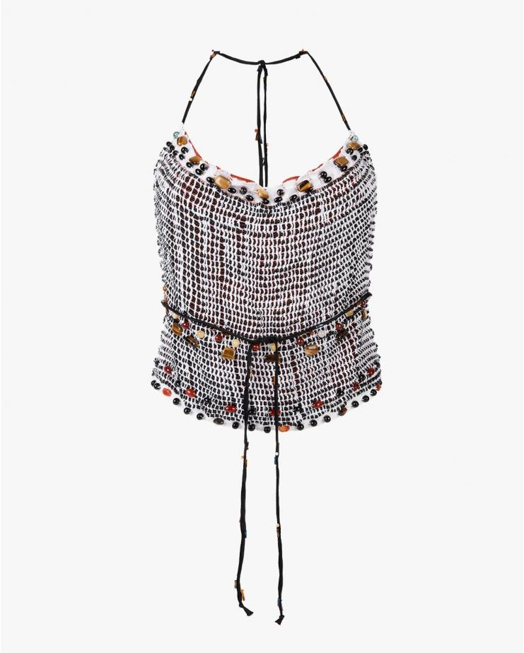 Beaded Hanging Top