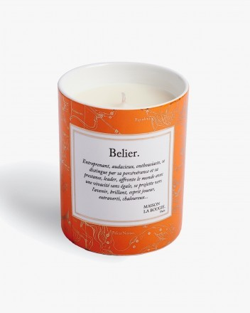 Belier Candle