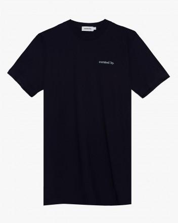 Logo T Shirt in Navy