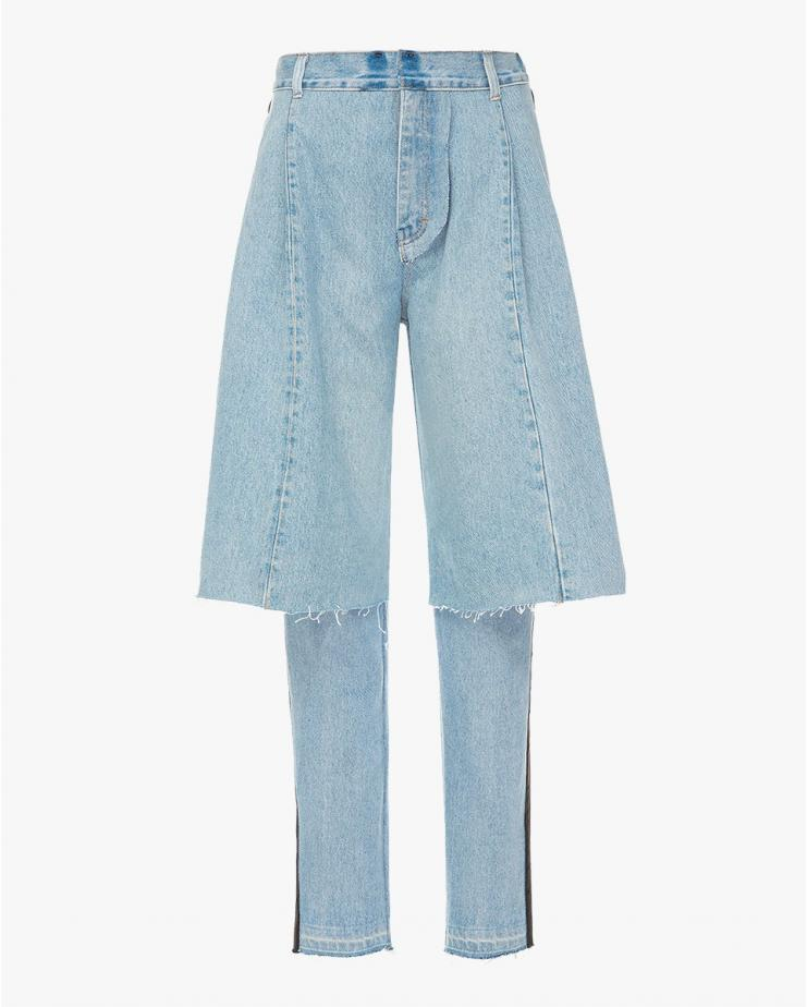 Light Blue Demi-Denims...