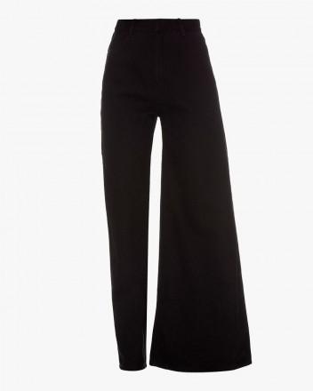 Asymmetric Skinny/Wide Jeans