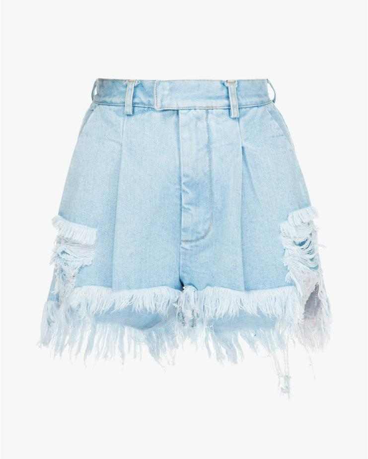 Denim Light Blue Distressed...