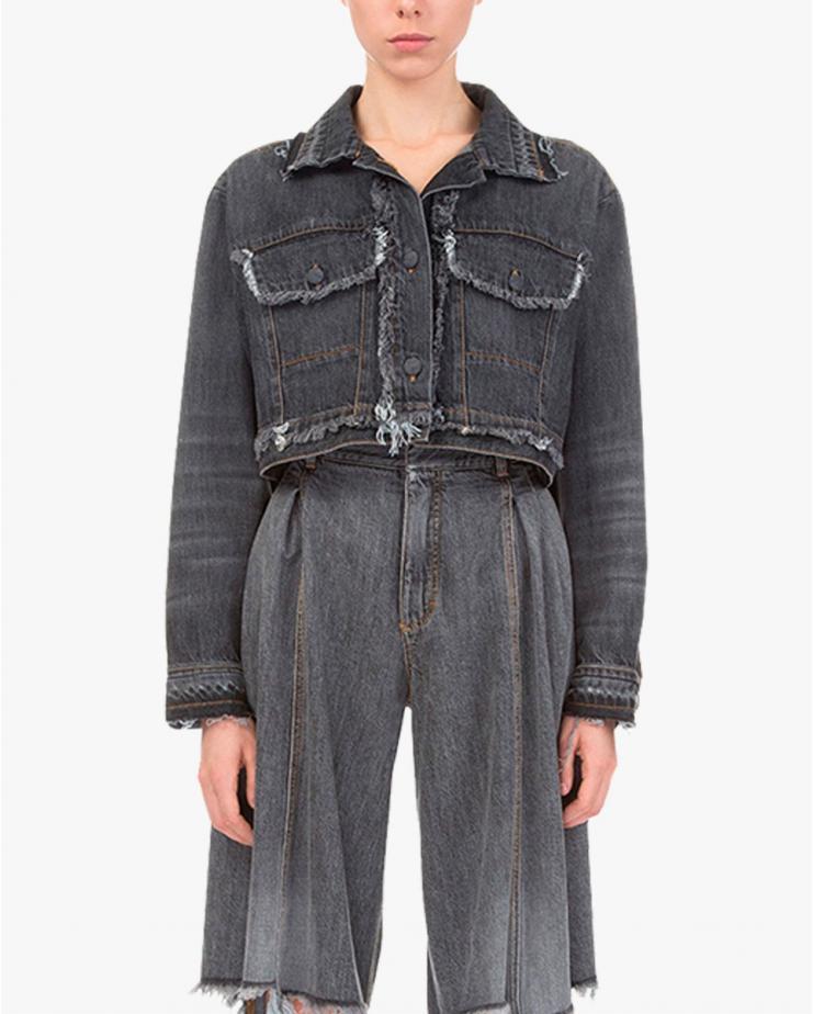 Organic Cropped Jacket