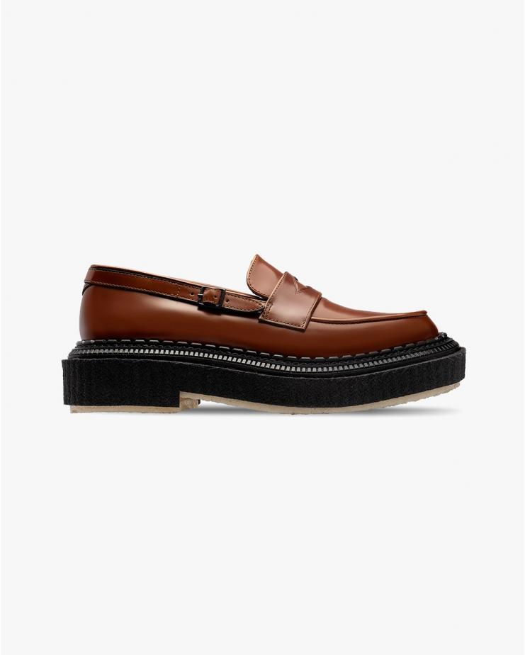 Type 162 Loafer in Gold Brown