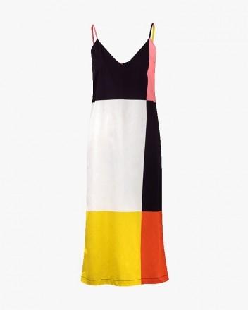 Rafaela Dress in Checksmulti