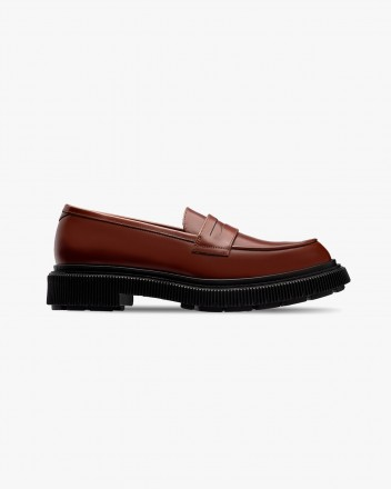 Type 159 Loafers in Gold Brown