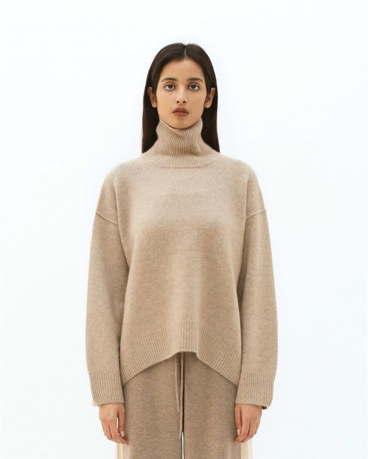 Oversized Jumper in Light...