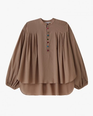 Bhumi Top in Walnut