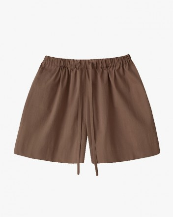 Kaia Shorts in Walnut