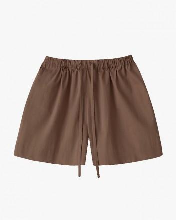 Kaia Shorts in Walnut