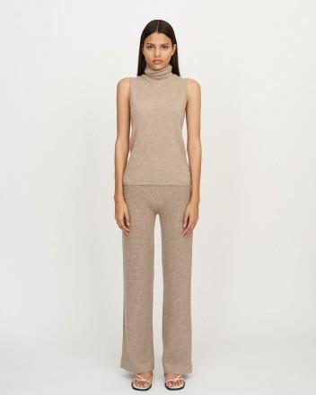 Ajur Pants in Light Brown