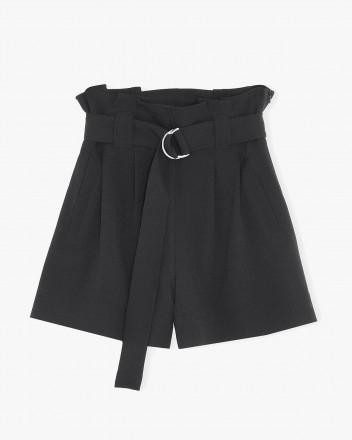 Heavy Crepe Shorts