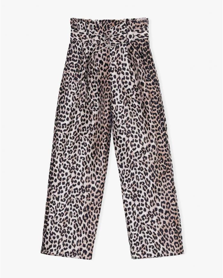 Crispy Jacquard Pants