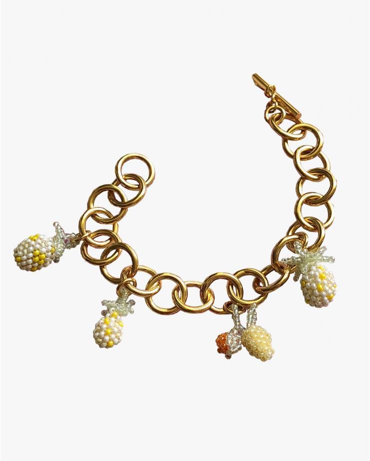 Chunky Pineapple Bracelet