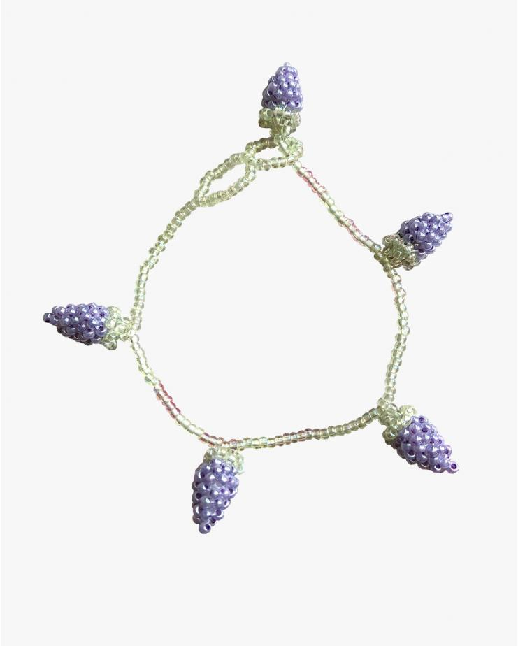 Pale Grape Bracelet