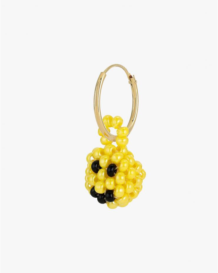 Mini Smiley Earring