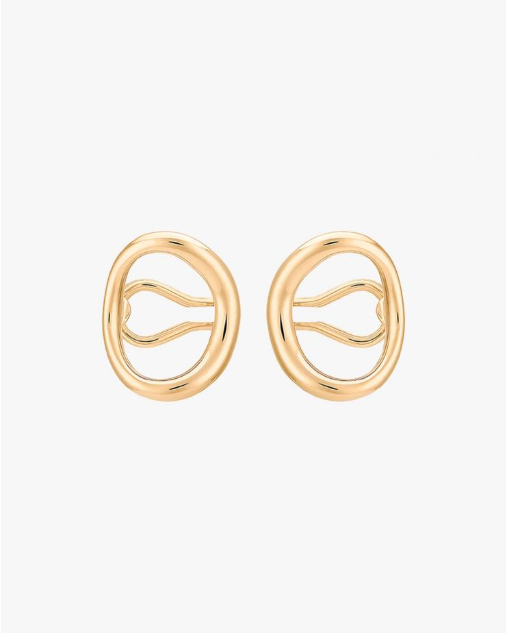 Naho Earrings in Vermeil