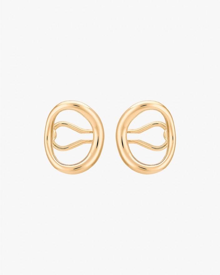 Naho Earrings in Vermeil