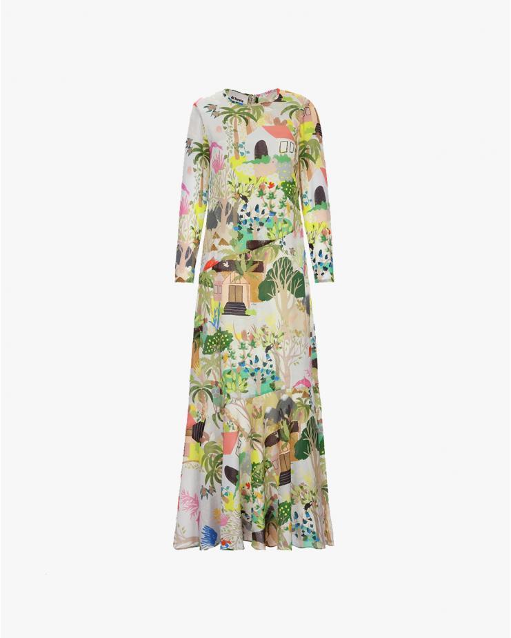 Catalina Dress in Selva...