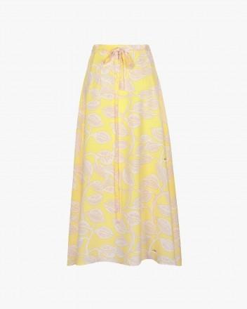 Ambar Skirt in Hojas...
