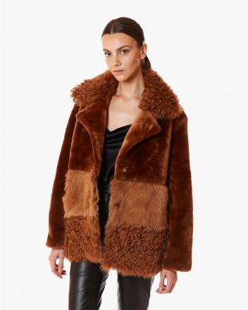 Anouk Coat in Camel