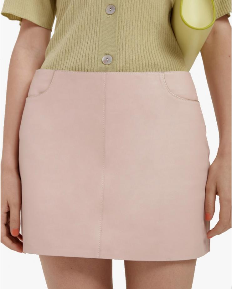 Tate Mini Skirt in Pink