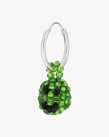 Exclusive Green Smiley Earring